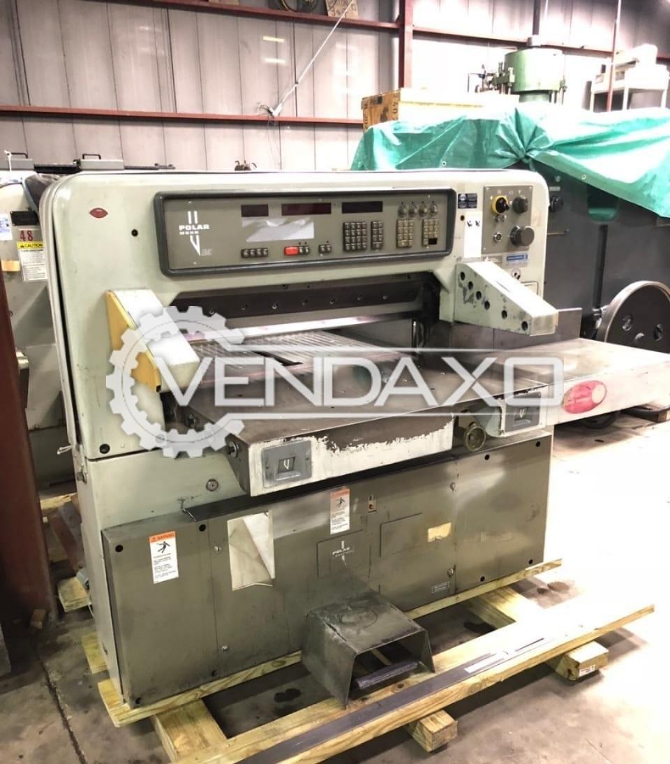 Polar 92 EMC Paper Cutting Machine - Size - 36 Inch, 1986 Model