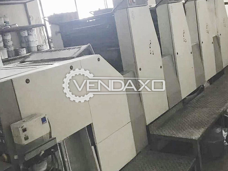 Adast Dominant 745C Offset Printing Machine - 4 Color, 2000 Model