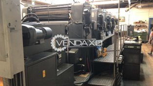 Heidelberg SM 102 F Offset Printing Machine - 28 X 40 Inch, 5 Color