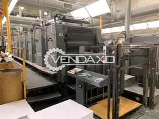 Heidelberg 102 S + Coater Offset Printing Machine - 6 Color