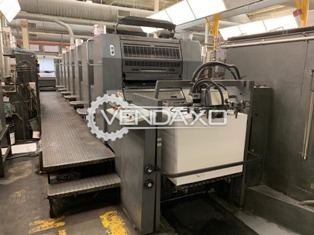 Heidelberg SM 74-6 Plus Coater Offset Printing Machine - 520 MM x 740 MM, 6 Color