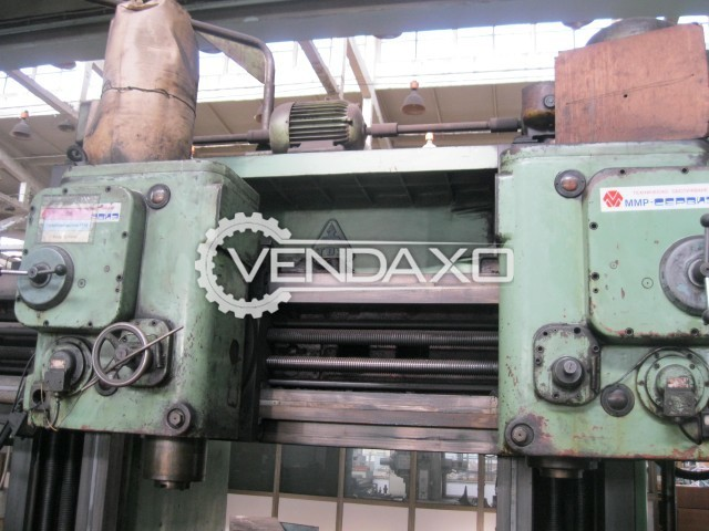TOS FP 16 Plano Miller Machine - Table size - 4000 mm x 1250 mm