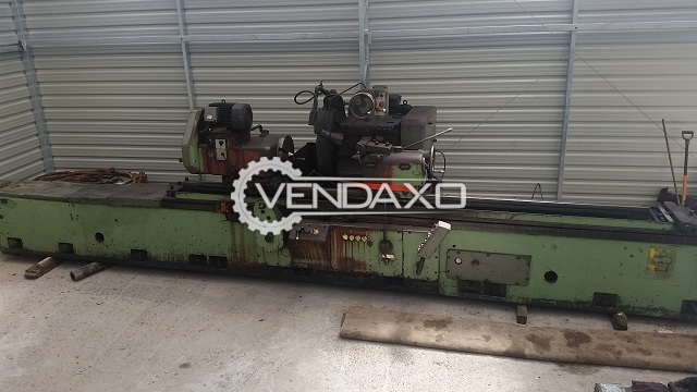 TOS BUA 63/3000 Cylindrical Grinder Machine - Length - 3000 mm