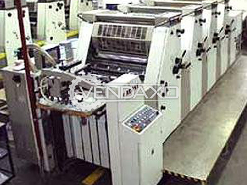 Adast Dominant 745CP Offset Printing Machine - 4 Color, 1996 Model