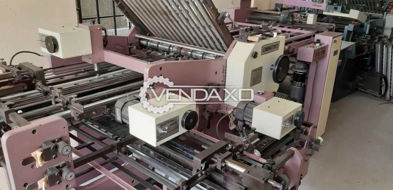 "Shoei K-66 Folding Machine - Size - 25"" x 38"", 1996 Model"