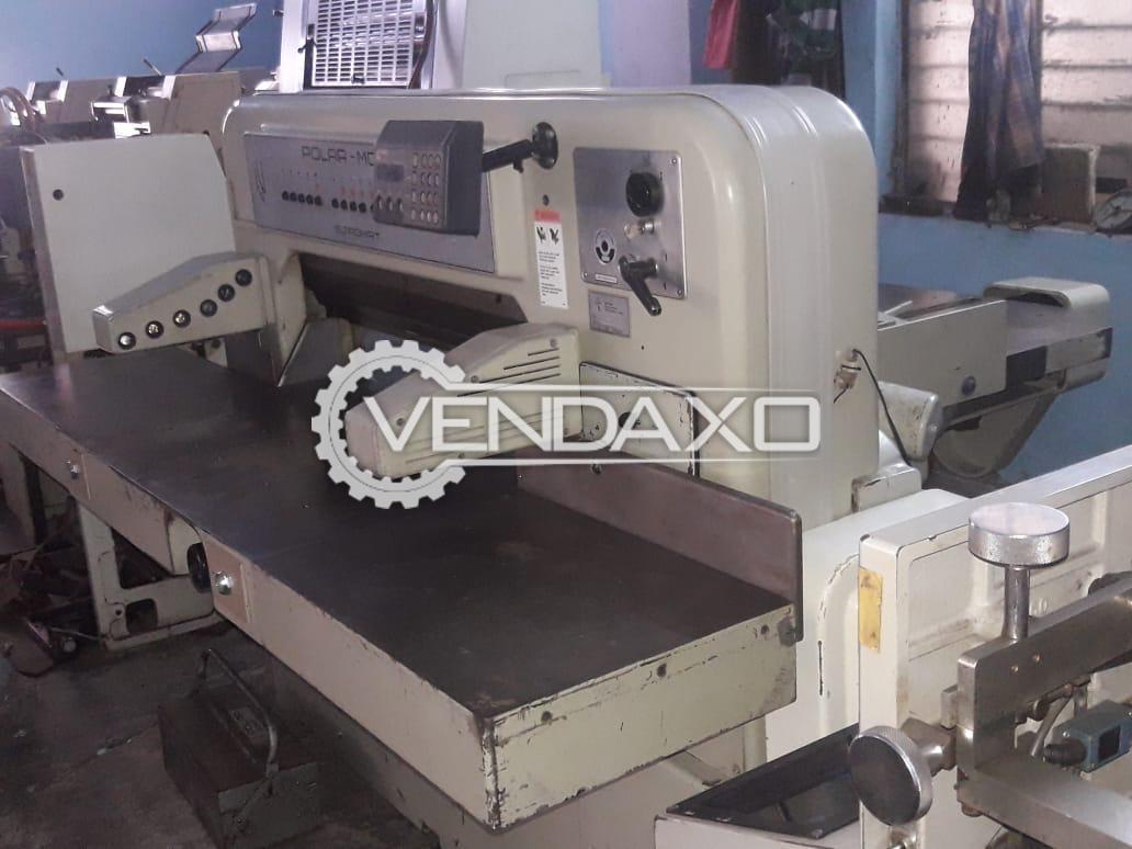 Polar 92 CE Paper Cutting Machine - Cutting Width - 920 mm