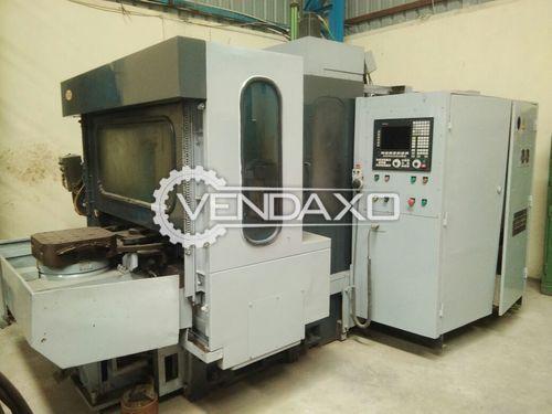 Hyundai Kia CNC Horizontal Machining Center - Pallet size - 400 x 400 MM