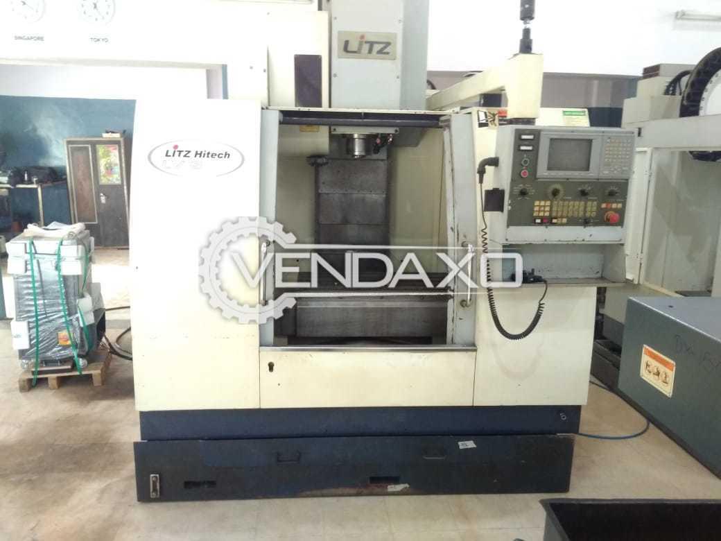 LITZ  LV800 CNC Vertical Machining Center - Spindle speed - 8000 RPM