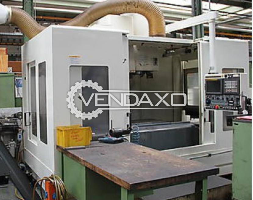 "Kitamura Mycenter 5 Axis CNC Vertical Machining Center -  Table size - 45"" X 22"""