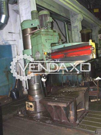 Csepel rfh 75 radial drill machine