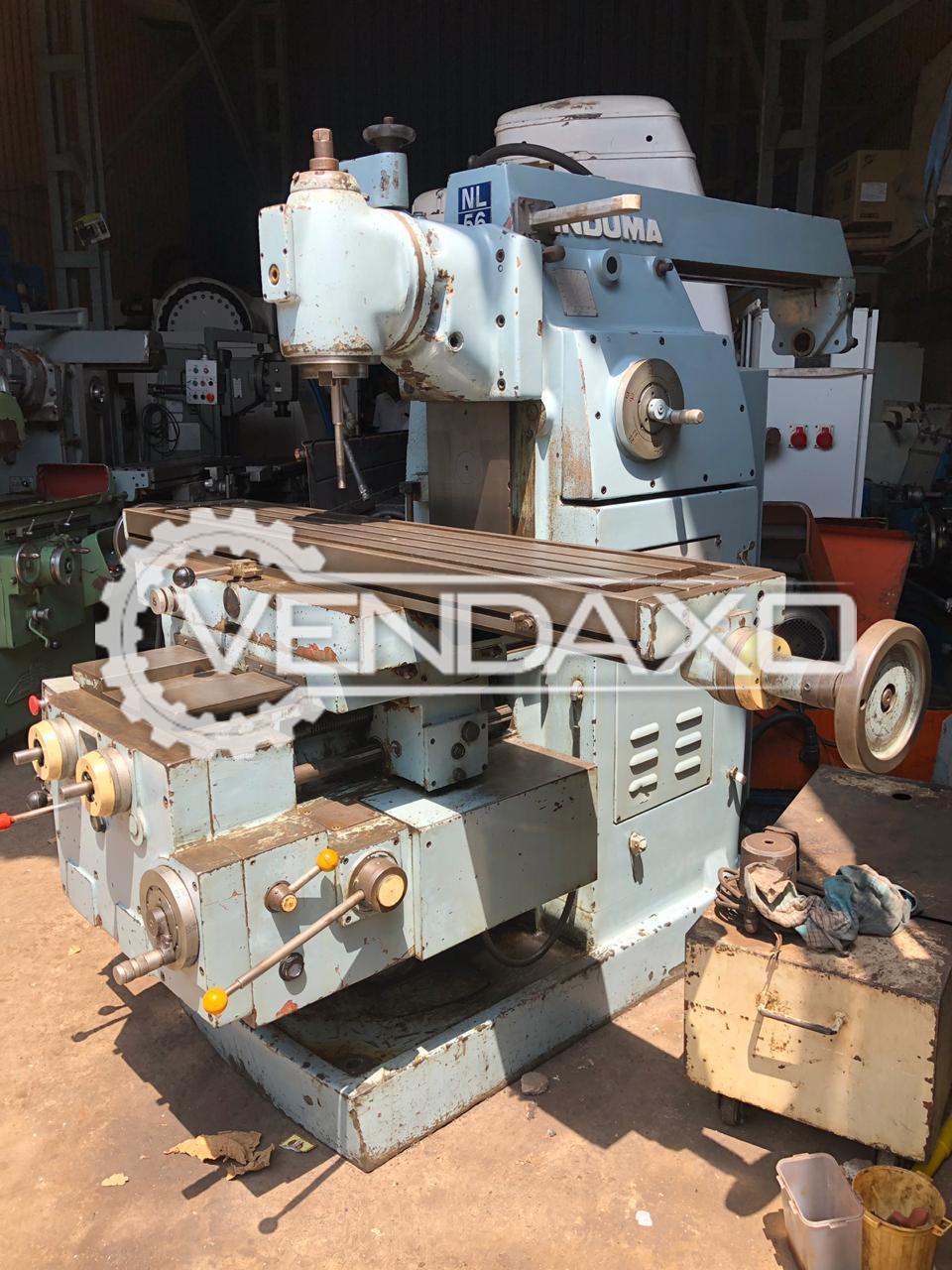 INDUMA Universal Milling Machine - Table Size - 1500 x 300 mm