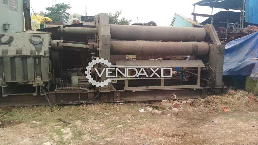 KCP Chennai Make Clutch Type Roll Plate Bending Machine - 2600mm x 40mm