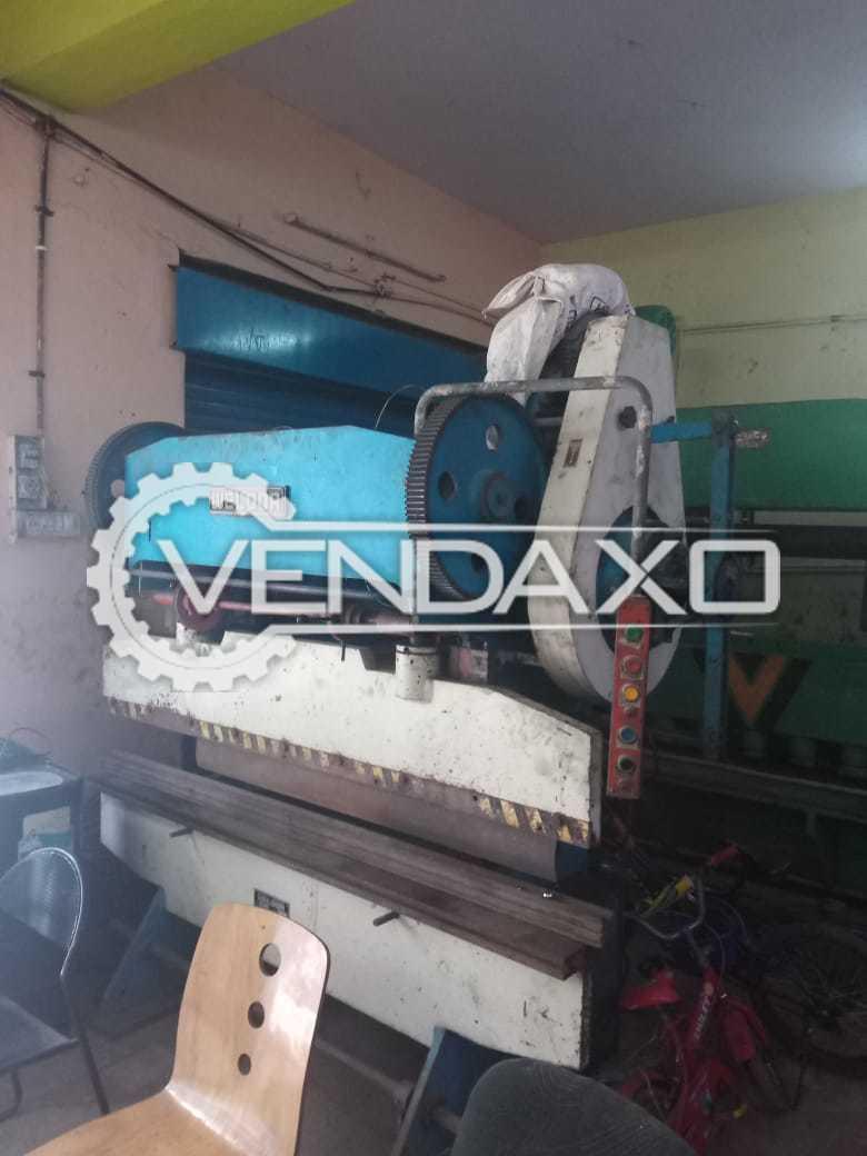Weldor Make Bending Machine - 2000 x 4 MM