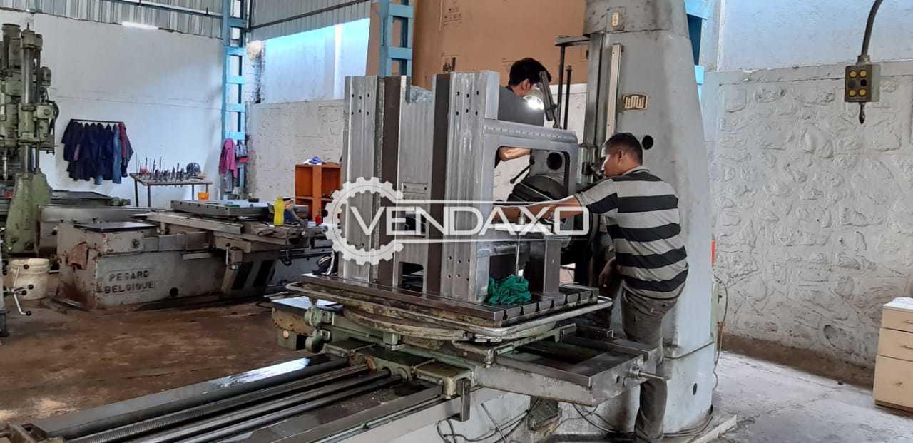 Union BF80 Horizontal Boring Machine - Table size - 35″ x 44″