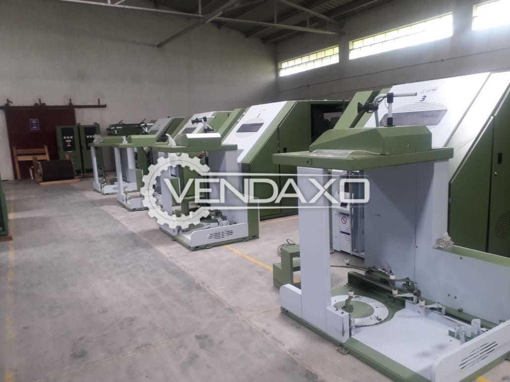 7 Set OF LMW LC 333 Carding Machine - Length - 20000 mm, 2010 Model