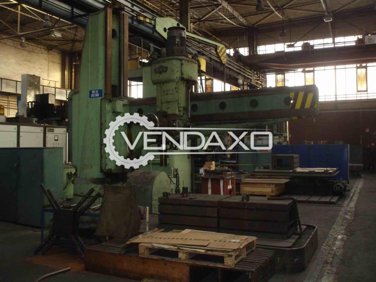 MAS VR-10 Radial Drill Machine 100 mm