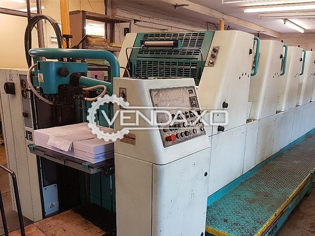 Polly 566 APH Offset Printing Machine - Size - 19 x 26 Inch, 5 Color