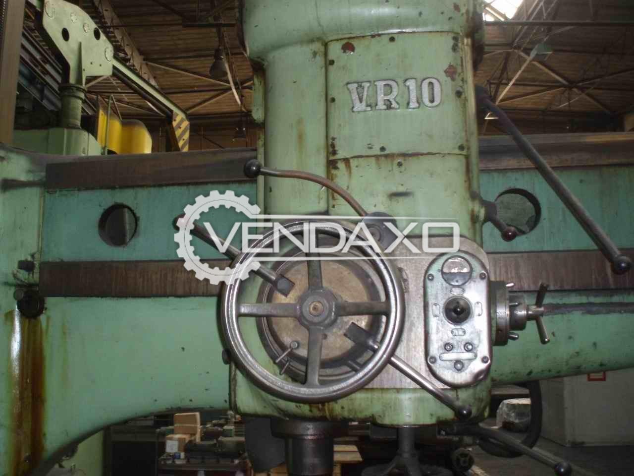 Mas vr 10 radial drill machine 100 mm 3