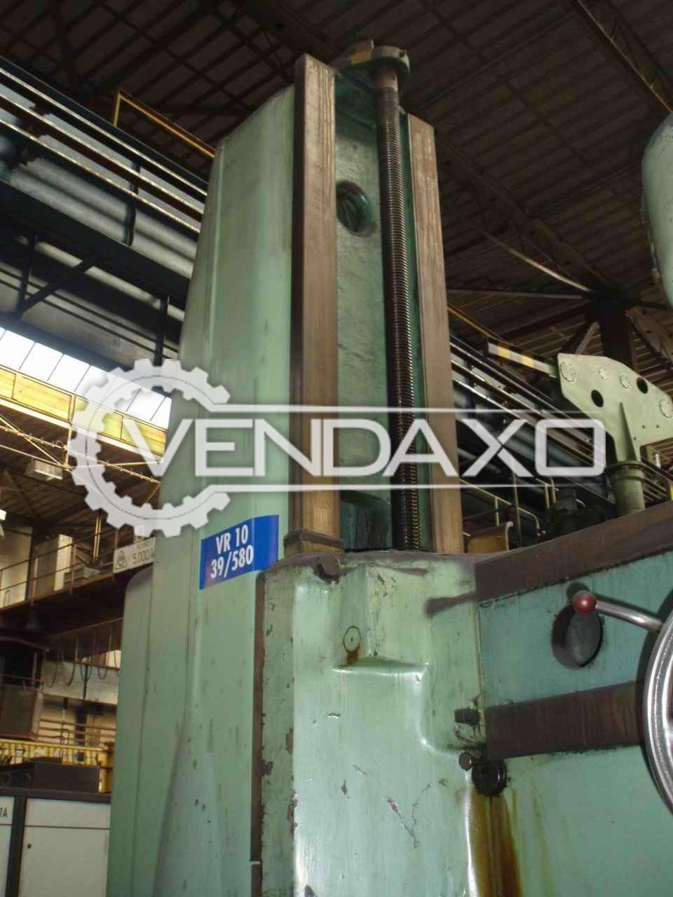 Mas vr 10 radial drill machine 100 mm 4