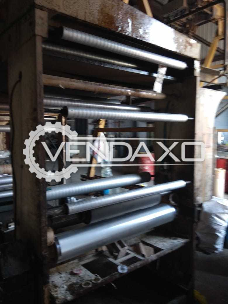 Available For Sale Canara Flex Dry Lamination Machine - Speed - 100 meters/minute
