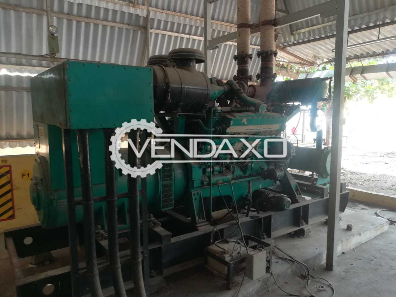 Caterpillar And Cummins 7 Sets Of Diesel Generator - 500 - 1010 Kva