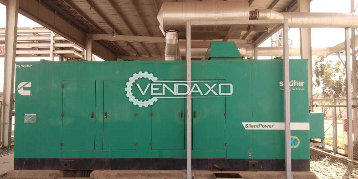 Cummins Diesel Generator - 750 Kva