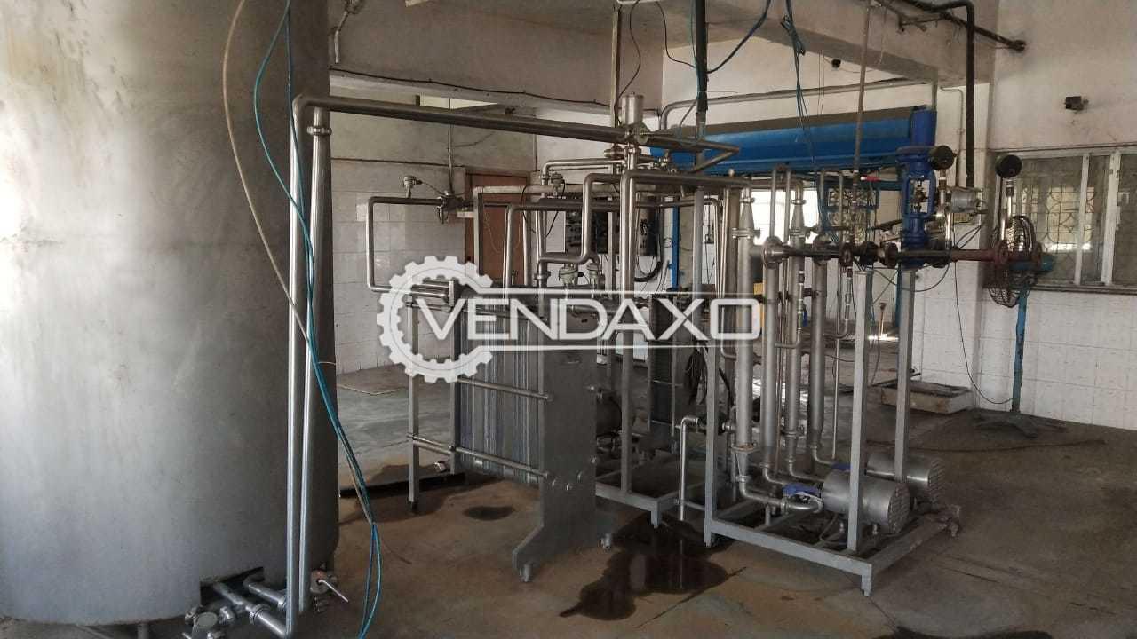 Zeuzer Engineers Make Curd Pasteurizer - 2 KL