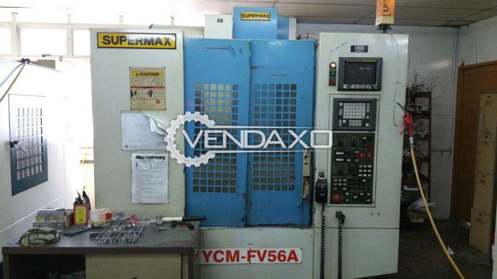 SUPERMAX YCM-FV Vertical Machining Center