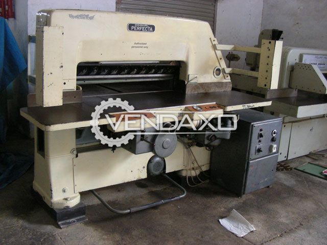 Perfecta Paper Cutting Machine - Cutting Width - 45 Inch