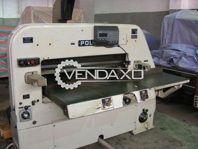 Polar 107 ST II Paper Cutting Machine - Size - 42 Inch