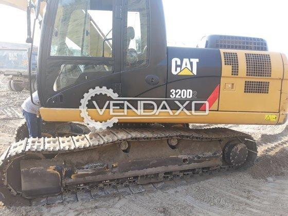 Cat 320D2 Excavator - Power - 125 HP, 2016 Model