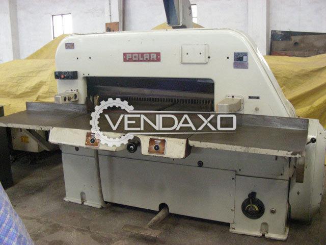 Polar 107 ST Paper Cutting Machine - Size - 42 Inch