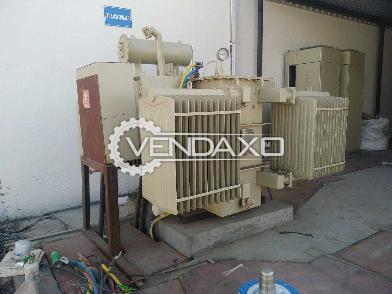 L.D.Power Transformer - 1250 Kva, 2007 Model