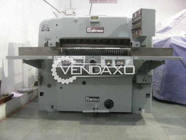 Pivano 112 Paper Guillotine Machine - 112 CM