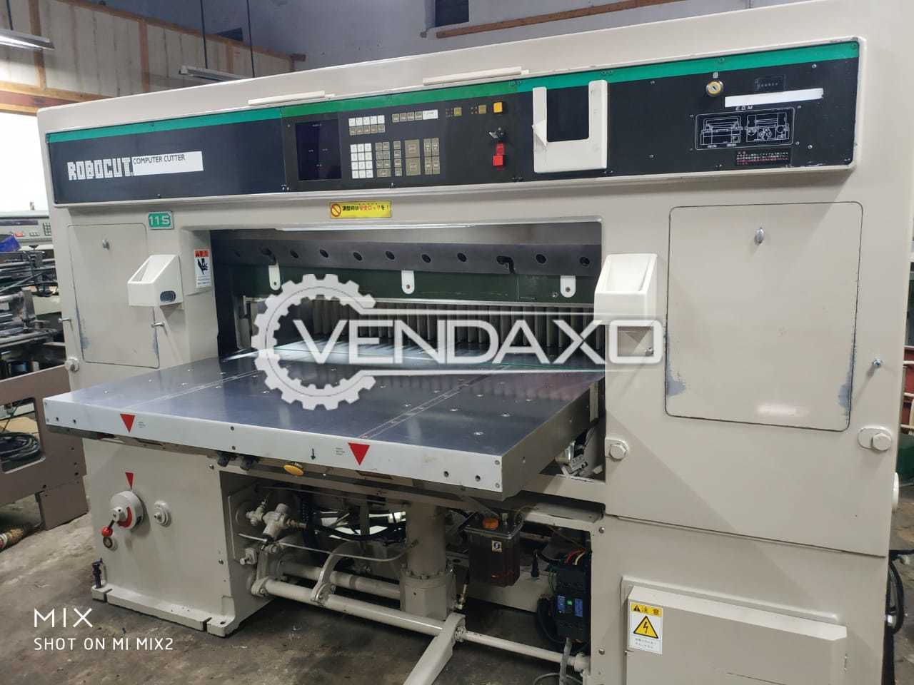 ITOH Robocut 115 Paper Cutting Machine - Size - 45 Inch, 2001 Model