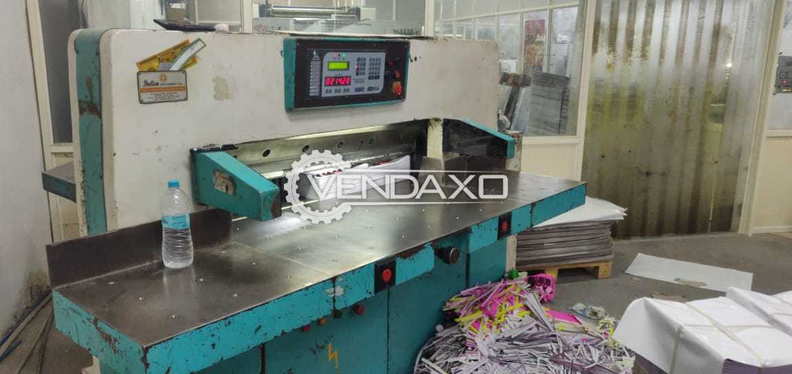Indian Hydraulic Paper Cutting Machine - Size - 45 Inch