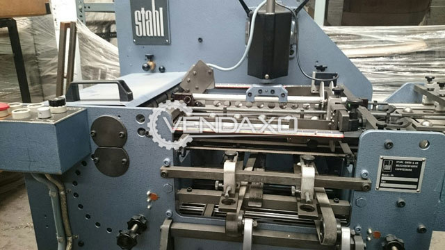 Stahl EF 40 Folding Machine - Max Format Size - 430 mm x 310 mm