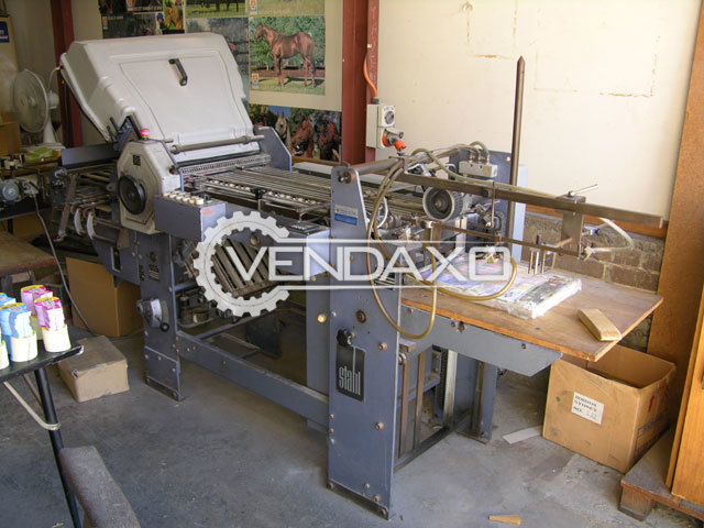 Stahl F49A Folding Machine - Size - 49 x 70 cm