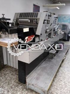 Adast Dominant 725P Offset Printing Press - 26 X 19 Inch, 2 Color