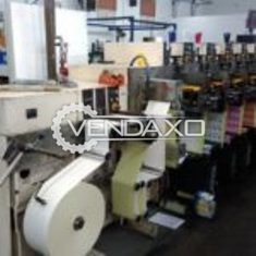 NILPETER F-200 Flexographic Label Press - 7 Color