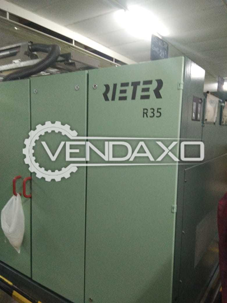 Rieter R35 Open End Spinning Machine - 460 Spindle