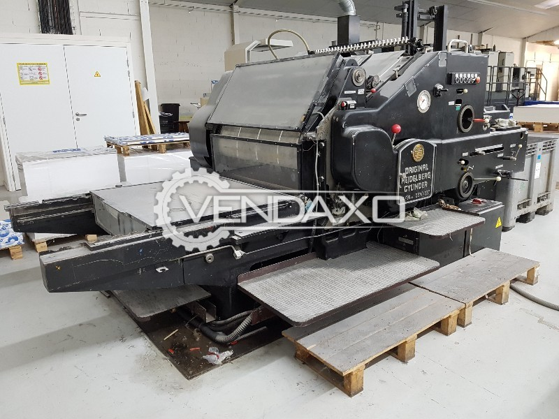 Heidelberg SBD Die Cutter Machine - Size - 25 X 36 Inch