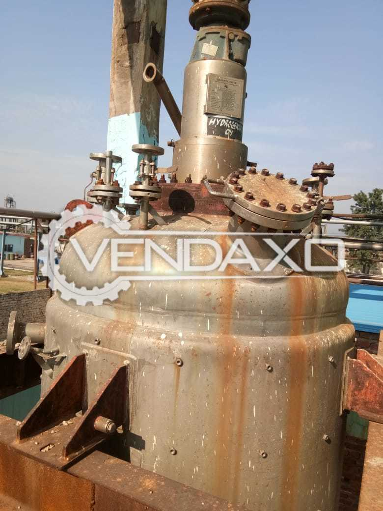 Indian Make Hydrogenation Pressure Vessels - 2.5 KL