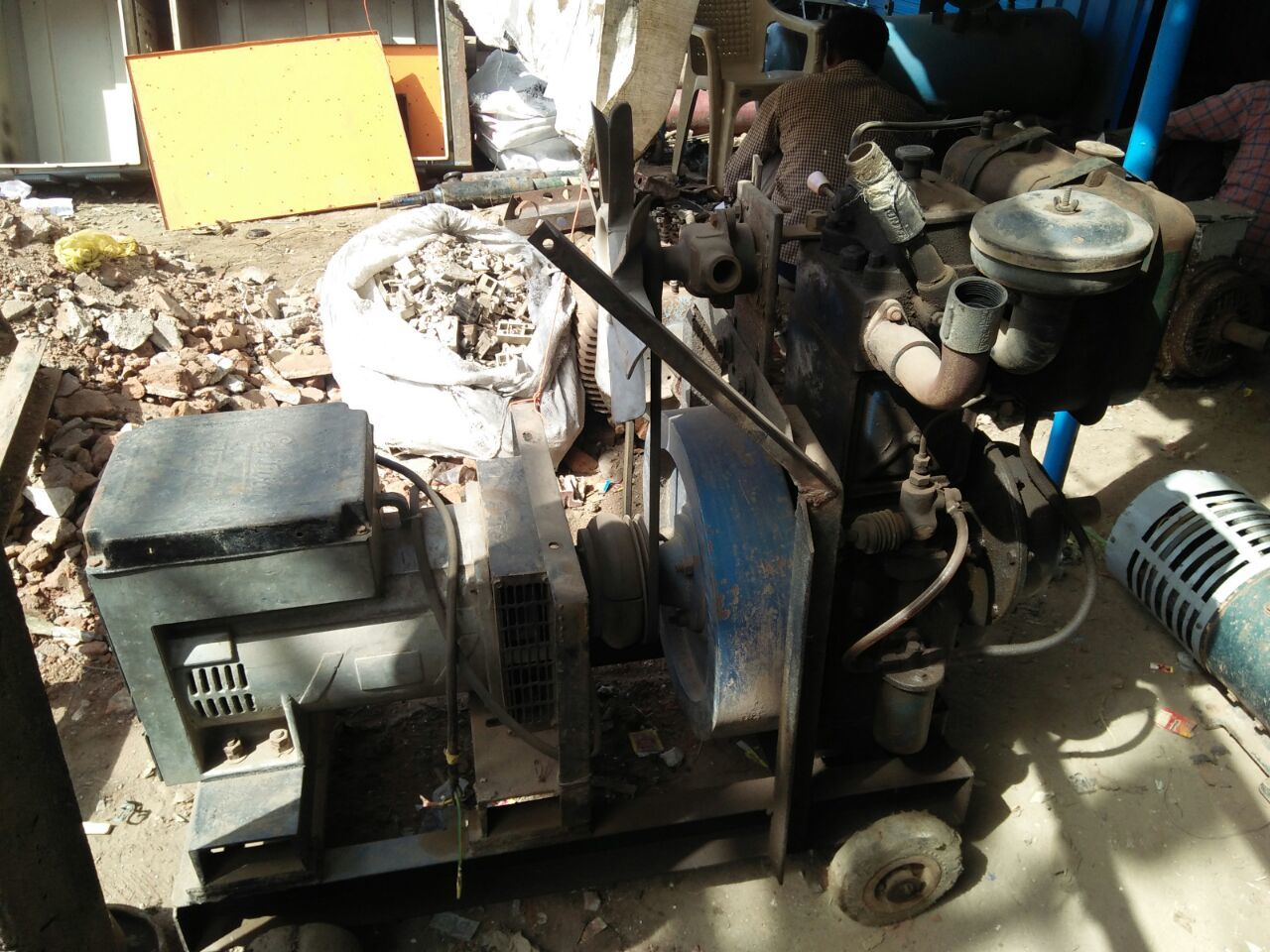 Used Diesel Generator - 10 kVA for Sale at Best Prices | Vendaxo