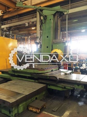 Union BFT130/6 Horizontal Boring Machine