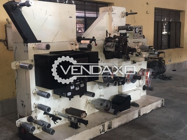 KOPACK Label Printing Machine - Size - 7 Inch, 5 Color With Coater