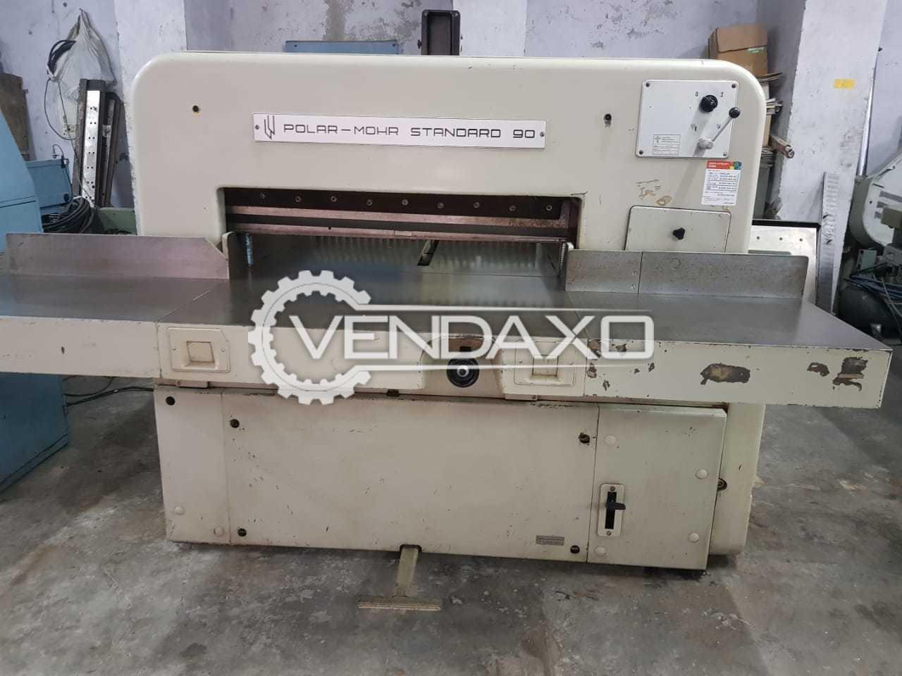 Polar 90 CS Paper Cutting Machine - Size - 35.5 Inch