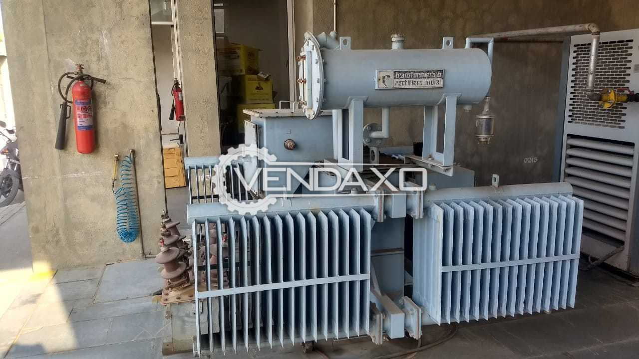 Transformers & Rectifiers Make Transformer - 400 Kva, 2001 Model