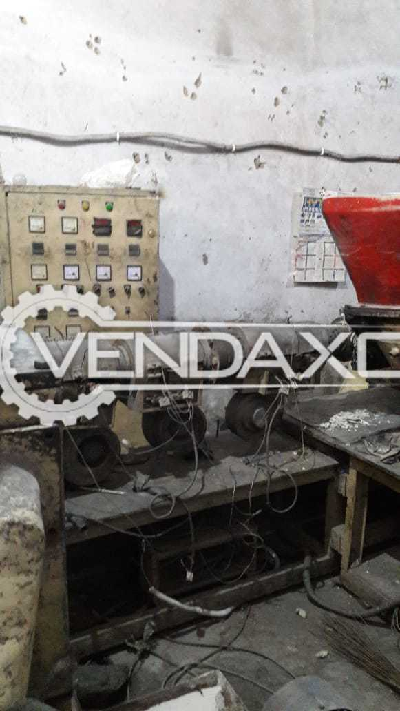 Plastic Extruder Machine - 120 to 140 KG/Hour
