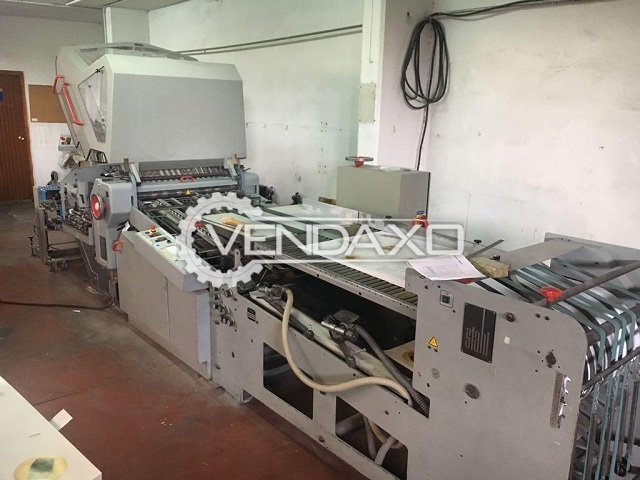 Heidelberg Stahl KD-78/4-KZ-RD-T Folding Machine - Paper Width - 128 CM